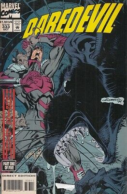 Fl- Daredevil N.333 The Man Without Fear -- Marvel Comics Usa - 1994 - S - Nqx