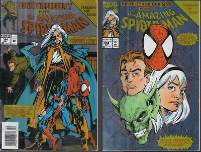 Fl- The Amazing Spider-Man N.394 Flip Book -- Marvel Comics Usa - 1994 - S - Pqx