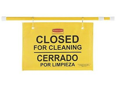 Brand New Rubbermaid Closed For Cleaning Sign.