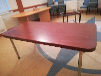 Large Wooden Meeting Room Table