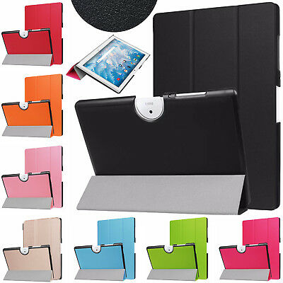 Leather Flip Magnetic Smart Stand Case Cover For Acer Iconia One 10 B3-A40 10.1""