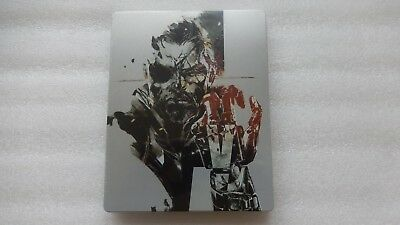 Metal Gear Solid V The Phantom Pain Steelbook Limited PS4/PS3/XBOX ONE (NO GAME)