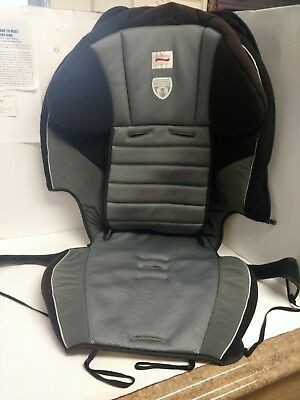 Britax Frontier Gray Booster Car Seat Fabric Pad Cover Cushion Replacement