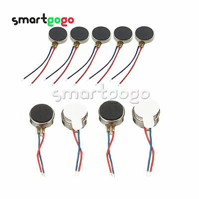 8/10mm DC 3V Pager Cell Phone Mobile Coin Flat Vibration Micro Motor BSG
