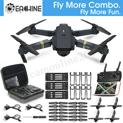 Eachine E58 Fly More Combo WIFI FPV 2MP Camera RC Quadcopter Kids XMAS Gift