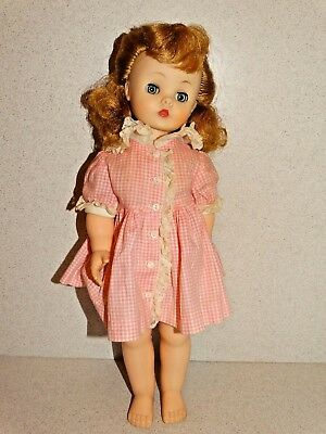 "Madame Alexander VINTAGE 1958 15"" KELLY Doll!"