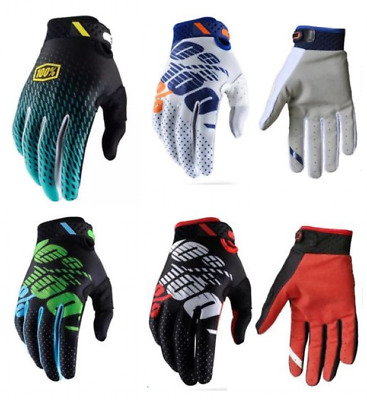 100% Adult Gloves Ridefit Motocross Cycling Enduro MTB MX Mountain Bike Racing