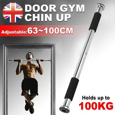 Chin Up Pull Up Door Gym Exercise Bar Training Fitness Strength Bar Home Workout