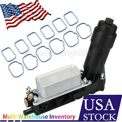 5184294Ae For 11-13 Jeep Dodge Chrysler 3.6L V6 Engine Oil Cooler Filter Housing
