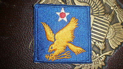 WWII Vintage US Army 2nd Air Force Shoulder Patch