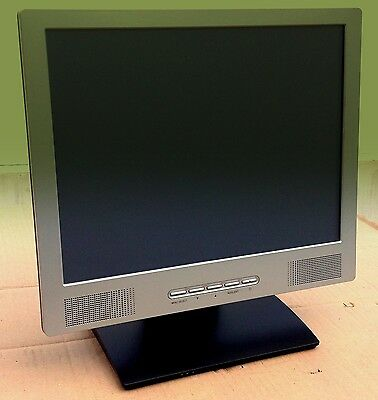 """Touch Monitor, 15"""" Touchscreen Monitor, Kassen-Monitor USB ACT Kern VT-1503, POS"""