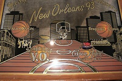 Vintage Seagrams Salutes The Winners New Orleans 93