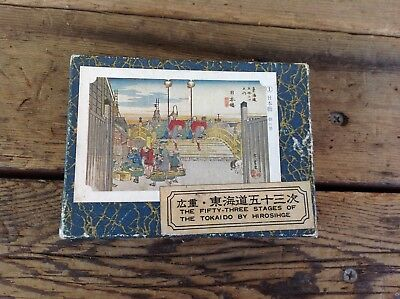 The Fifty-Three Stages of the Tokaido by Hirosihge - Boxed Art Cards
