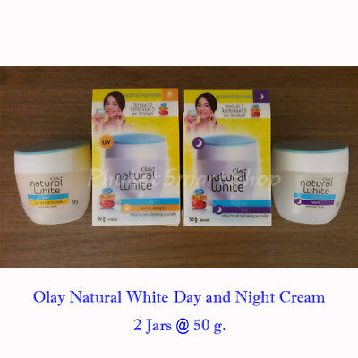 Olay Natural White Cream All in One Day and Night SPF 24 UV Whitening 50g 1