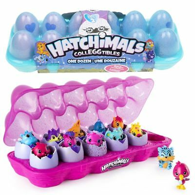 Hatchimals Colleggtibles 12 Pack Egg Carton Surprise Kids Toy Birthday Xmas Gift