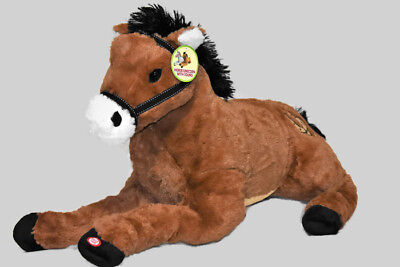 Soft Giant Plush Horse Large Body Pillow Stuffed Animal Toy Cuddly