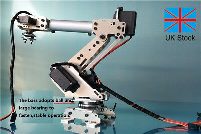 DOIT DoArm S6 6DoF Robot Arm ABB Model Manipulator 4PCS MG996R 2PCS MG90S UK