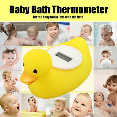 Digital Baby Bath Thermometer LCD Floating Duck Water Sensor Safety Bath Toy