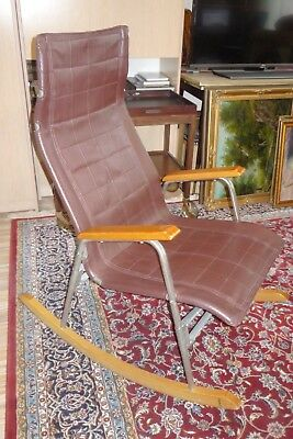 Vintage Rocking Chair /  Takeshi Nii Style, Cccp, Pilot ??? Indicated /
