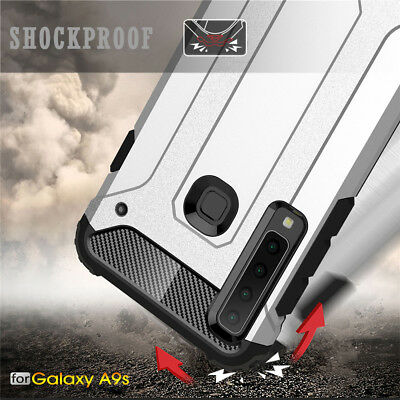 For Samsung Galaxy A9 2018 A7 J4+ J6+ Shockproof Hybrid Rugged Armor Case Cover