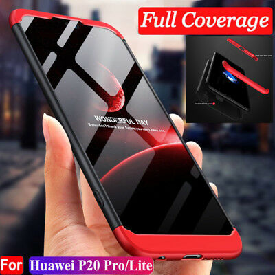 For Huawei Mate 20 Pro Lite P20 360° Full Body Shockproof Hybrid Case Slim Cover