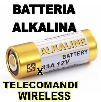 Pile Batterie Alkalina Per Telecomandi Wireless 23 A 12V Pila Batteria Kit Da 5