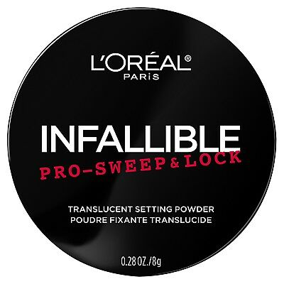 Loreal Infallible Pro-Sweep & Lock Loose Setting Powder Translucent 0.28 Oz.
