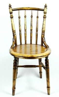 Antique Elm & Beech Kitchen Dining Chair - FREE Shipping [PL4728]