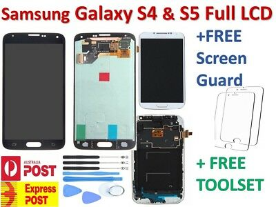 For Samsung Galaxy S5 / S4 LCD Touch Screen Digitizer Replacement -  Aus Stock.