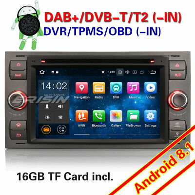 Android 8.1 DAB+ Car Stereo For FORD C/S-Max Transit Connect Mondeo Focus Fiesta