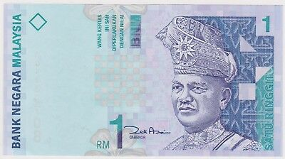 (N18-78) 1996 Malaysia 1 RINGGIT Bank note (CM)