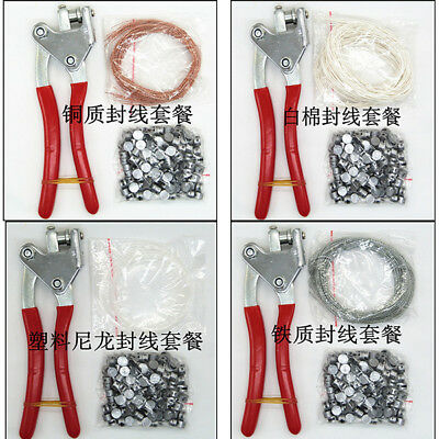 Lead Sealing Piler Meter Seal Press Security &Iron/Cotton/cuprum Wire &Leads