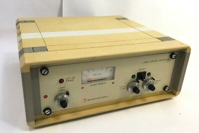 Spectron Laser Systems - Laser Control System LS101