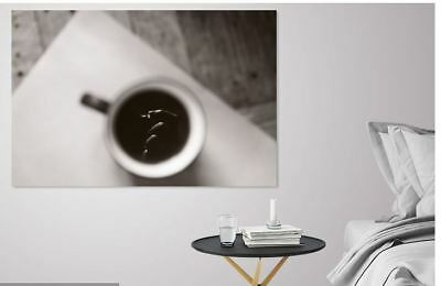 BEAUTIFUL COFFEE SCENERY  Framed Canvas home wall Picture Art choose your size
