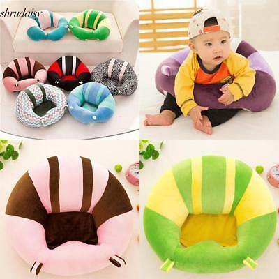 Soft Cute Print Baby Support Seat Sofa Learning Chair Plush Toy for Infant Kids