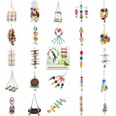 Parrot Toy Bird Toys Hanging Toy Parrot Nest for Medium and Small Parrots Birds