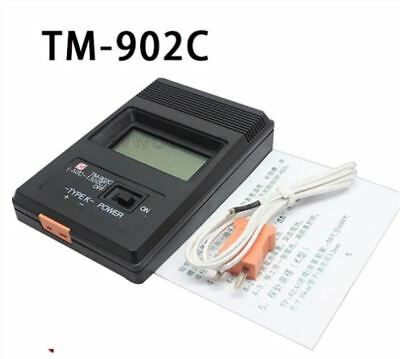 TM-902C Digital Lcd K Type Thermometer Meter Single Input+Thermocouple Probe gg