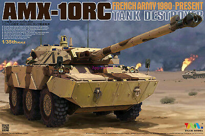 Tiger Model  4609 1/35 French Army AMX-10RC Tank Destroyer