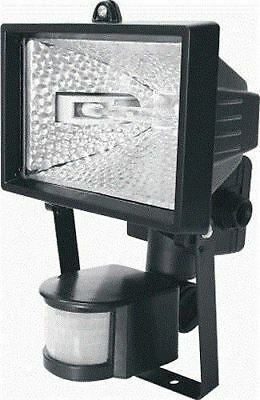 New Halogen Floodlight Garden Security Light With Pir Motion Sensor