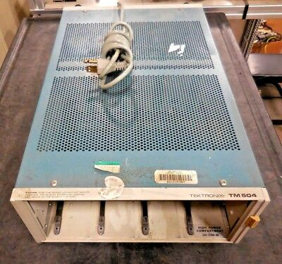 Tektronix TM504, 334-2380-00 High Power Compartment Chassis (No Modules)