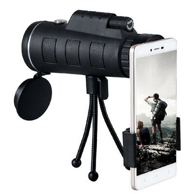 40X60 HD Monocular Telescopes Tripod Kit Shimmer lll Night Vision Outdoor Hiking