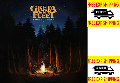 From The Fires By Greta Van Fleet Audio CD 0602567126034 Pop Rock Lava Music NEW