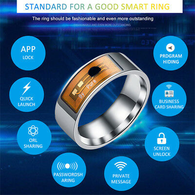 NFC Smart Finger Ring Multifunctional Waterproof Intelligent Magic Smart Ring NL