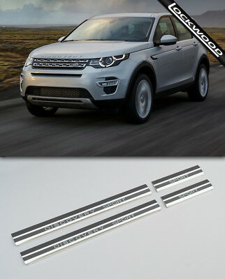 Land Rover Discovery Sport Stainless Sill Protectors / Kick Plates