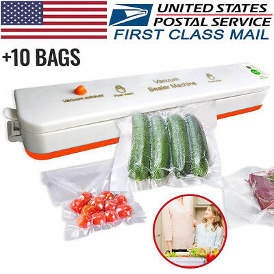 Vacuum Sealer Food Saver Machine Home Sealing System Meal Fresh Saver Packing