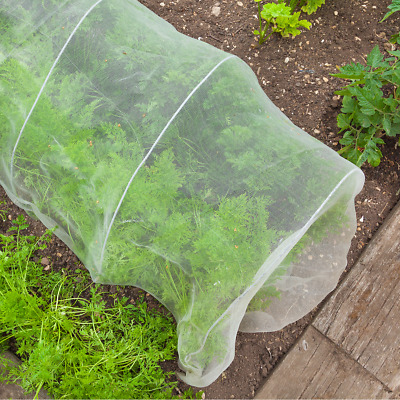 Dragonfli Vegetable Insect Netting Garden Crop Protection Mesh 2m Width Per Mtr