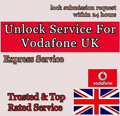 Vodafone Unlock service code For UK iPhone 6 6s 6 plus 6s plus(Ph No needed)