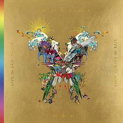 Coldplay Cd - Live In Buenos Aires/Live In Sao Paulo [2Cd/2Dvd](2018) - New