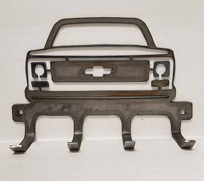 Sweet Square Body Round Eye Style Truck * Cool Metal Wall Hanger!