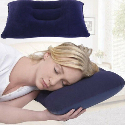 Modern Travel Pillows Kissen Inflatable Cushion Neck Rest Support Camping Flight